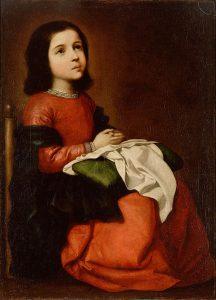 フランシスコ・デ・スルバラン 聖母マリアの少女時代