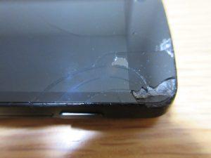 Nexus 5 ひび割れ